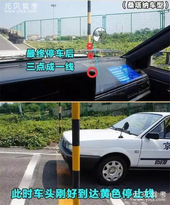 坡道定点停车和起步停车压边线的解决对策